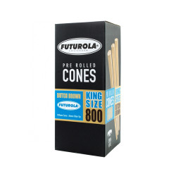 Futurola King Size Dutch Brown Cones