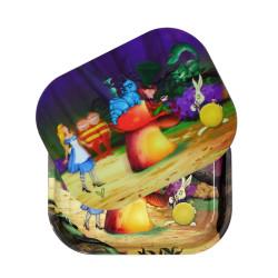 Alice Mushroom Roll n Go Tray