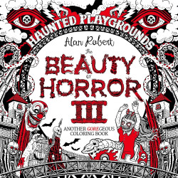 Beauty of Horror 3 Colouring Book