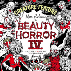 Beauty of Horror 4 Colouring Book