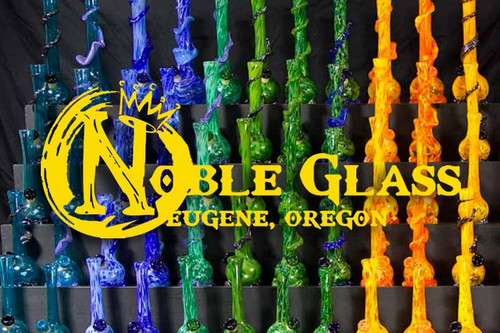 Behind Noble Glass