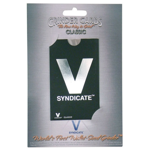 V Syndicate Grinder Card - Classic - Classic V