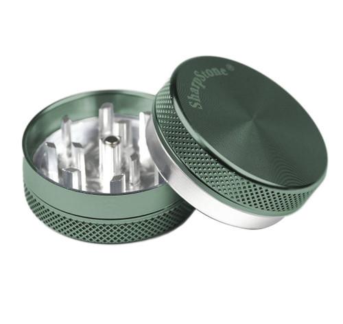 "SharpStone 2-Piece Grinder Colored 2.2"" - Green"