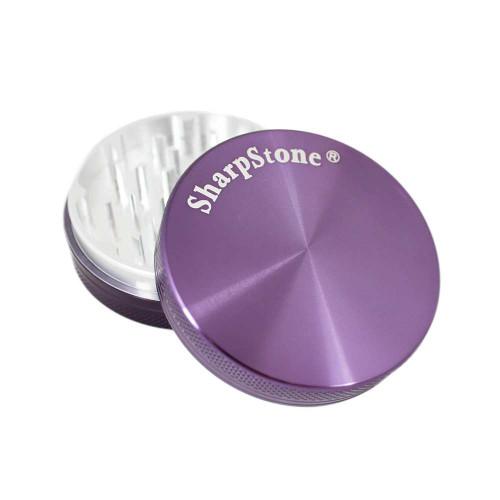 "SharpStone 2-Piece Grinder Colored 2.5"" - Purple"