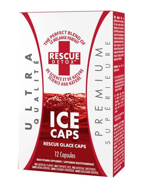 Rescue Detox Ice Caps - 12 Caps