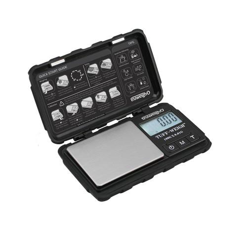 Truweigh - Tuff-Weigh - Digital Mini Scale w/ Hard Shell Case 100g x 0.01g – Black