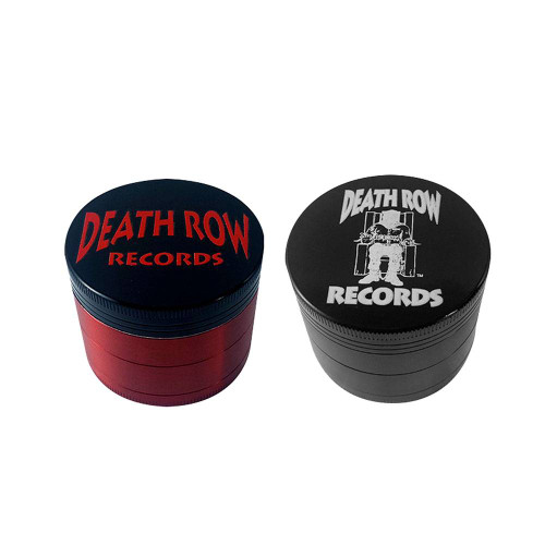 """2.2"""" Red Death Row Records Infyniti 4-Piece Grinder"""