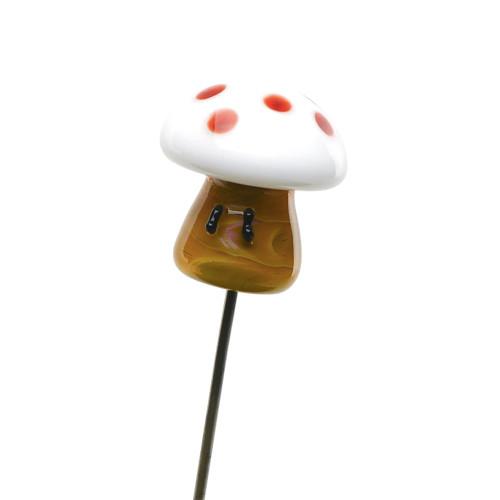 Empire Glassworks Mushroom Poker