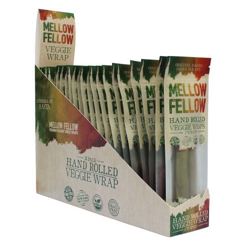 Mellow Fellow Veggie Wraps Display