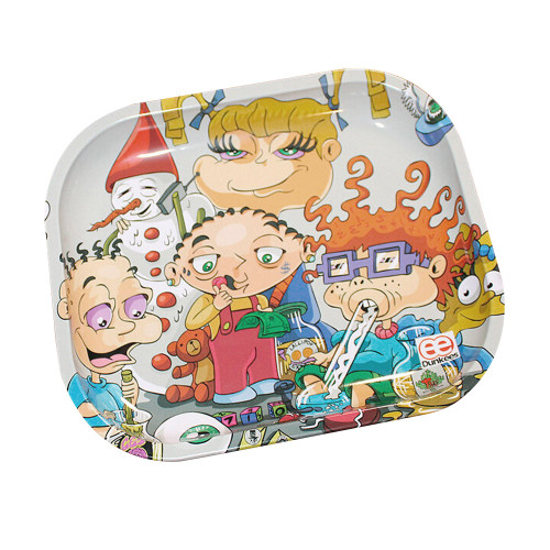 Dunkees Kids will be Kids Tray