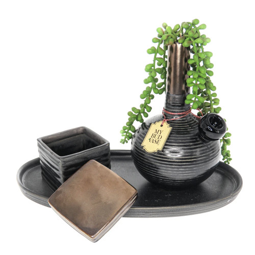 My Bud Vase - Deangelo with Tray & Jar