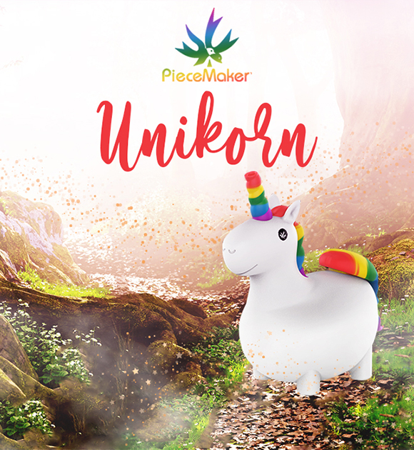 PieceMaker Unikorn Silicone Water Pipe