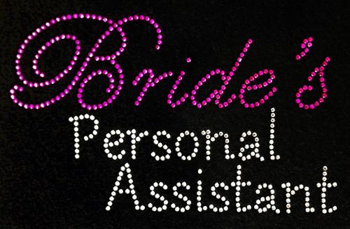 Rhinestone Bride's Personal Assistant