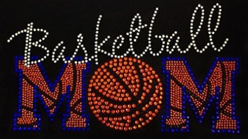 Rhinestone Basketball Mom Lines