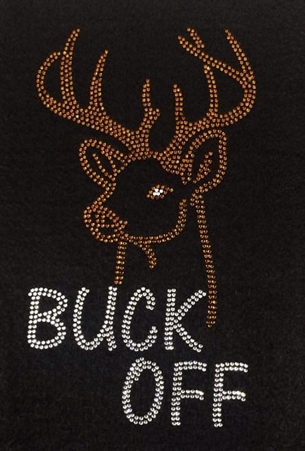Rhinestone Buck Off        ONLY 1. Junior Fit Large  2. Universal Medium
