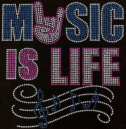 Rhinestone Music Is Life
