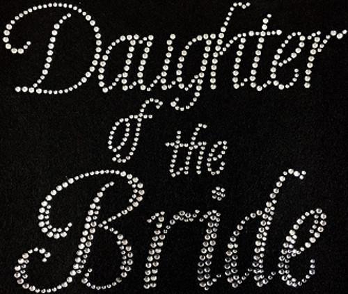 RhinestoneDaughter Of The Bride