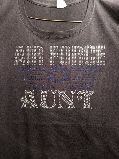 AIR FORCE AUNT/JUNIOR FIT LG ONLY