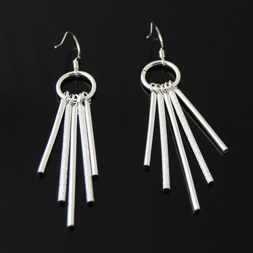 """3"""" Stainless Steel Pole  Earrings"""