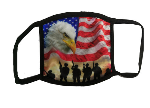 American Flag Country Cloth Face Mask