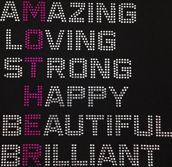 Amazing MotherLoving strong happy beautiful brilliant