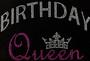 Birthday Queen Crown Pink