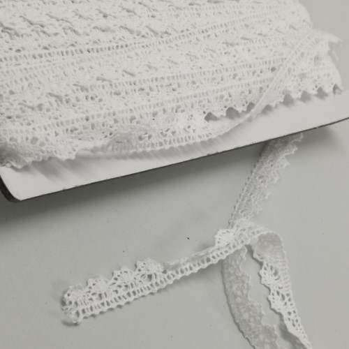 White Crochet Trim
