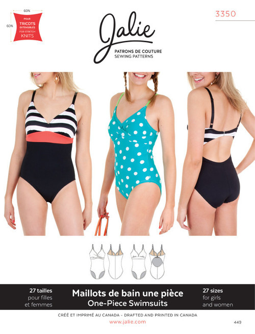 One Piece Swimsuit 3350 by Jalie