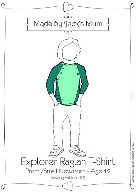 Explorer Raglan by MBJM