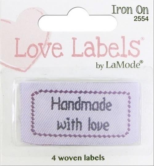 Handmade With Love - Labels