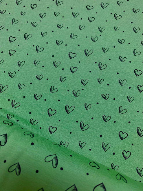 Love Notes Jersey - Green