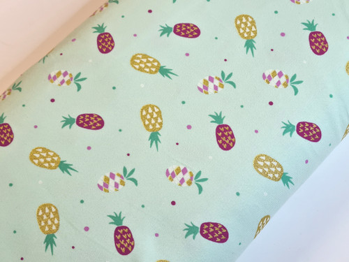 Glitter Pineapple Party Jersey