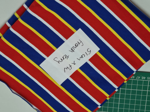 REMNANT Super Stripe French Terry 51cm x Full Width