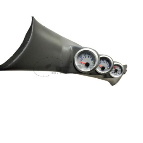 Ortiz Custom Pods A-Pillar Triple Gauge Pod (Evo 8/9)