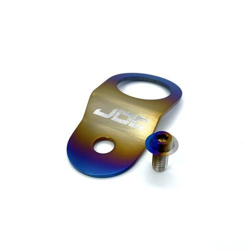 JDC Titanium Radiator Stay Bracket   Evo 7/8/9