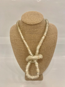 Trade Beads Necklace - Opalescent