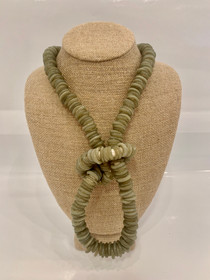 Trade Beads Necklace - Gray