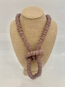 Trade Beads Necklace - Lavender
