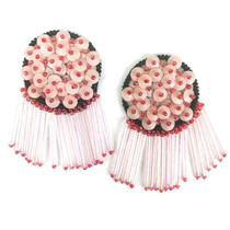 Susie Earrings, Pink