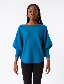 RYU Thin Sweater - Dark Teal