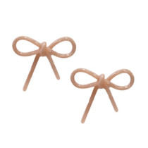 Acrylic Bows - Pale Pink