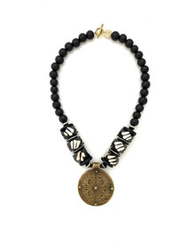 Tribal Medallion - Black