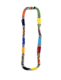 Tribal Beads Necklace - Multi