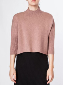 Aja Sweater - Dusty Rose