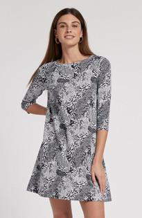 Alexa Knit Dress, Multi