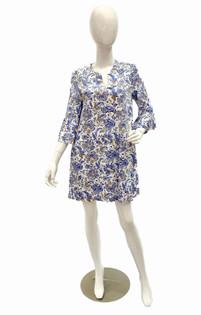 Kerry Dress, Batik Floral