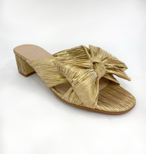 Bow Shoe - Gold