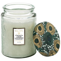 Large Jar Candle - French Cade & Lavender