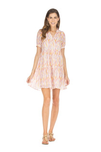 Short Sleeve Tiered Dress, Spring Drops