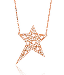 Superstar Necklace - Clear